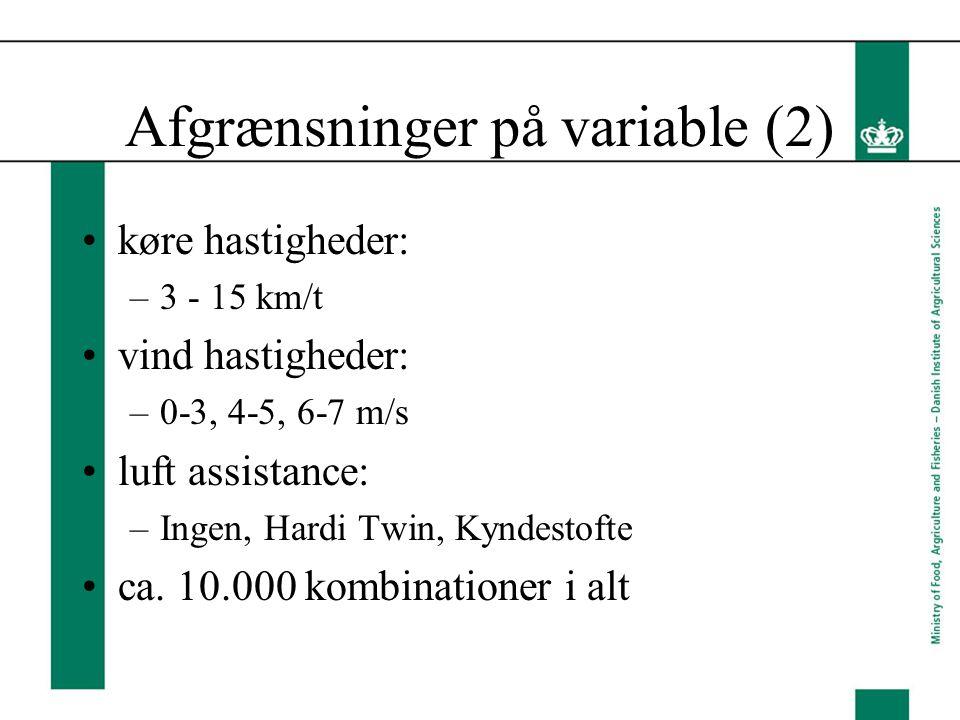 Afgrænsninger på variable (2)