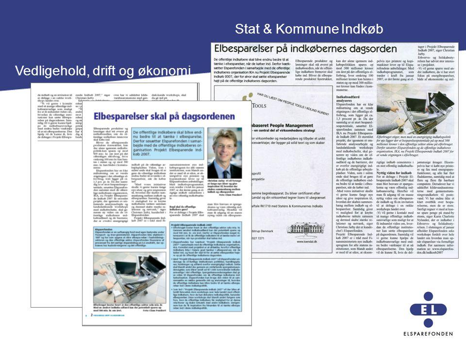 Stat & Kommune Indkøb Vedligehold, drift og økonomi