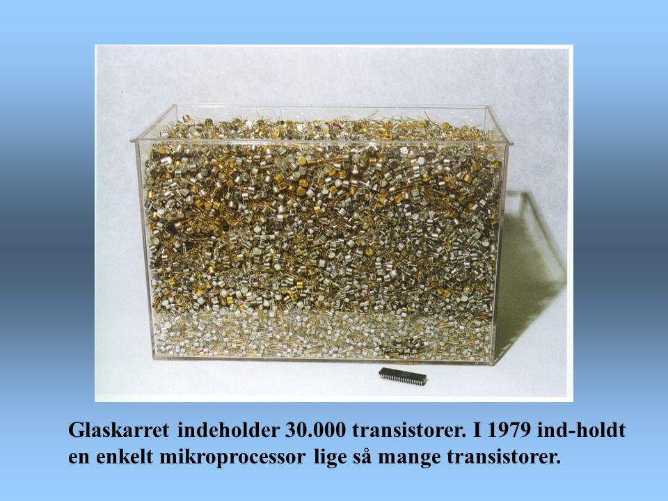 Glaskarret indeholder 30. 000 transistorer