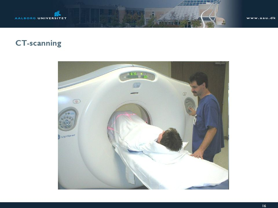 CT-scanning