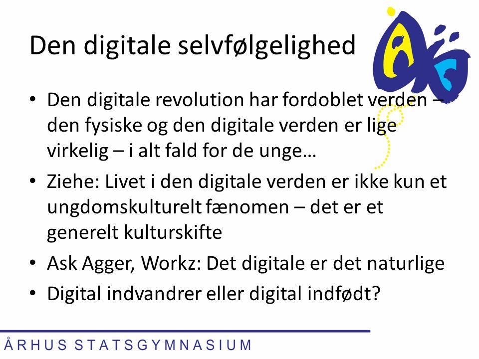 Den digitale selvfølgelighed
