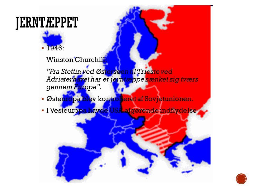 Jerntæppet 1946: Winston Churchill: