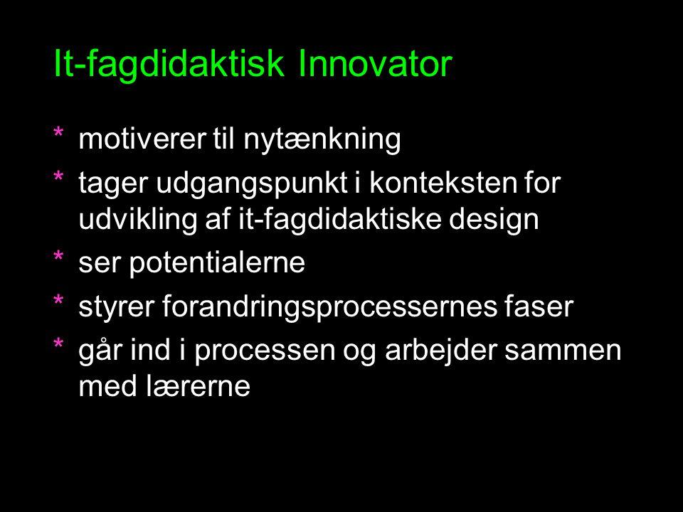 It-fagdidaktisk Innovator