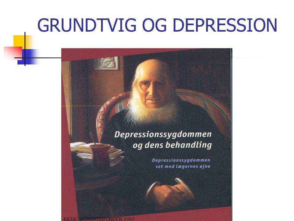 GRUNDTVIG OG DEPRESSION