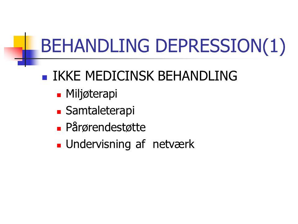 BEHANDLING DEPRESSION(1)