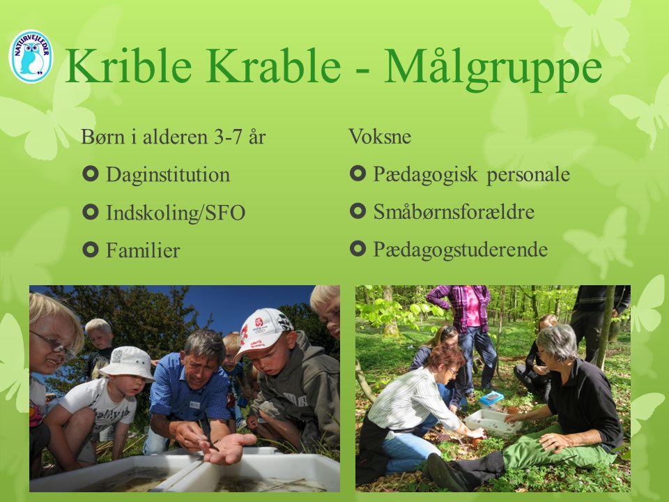 Krible Krable - Målgruppe