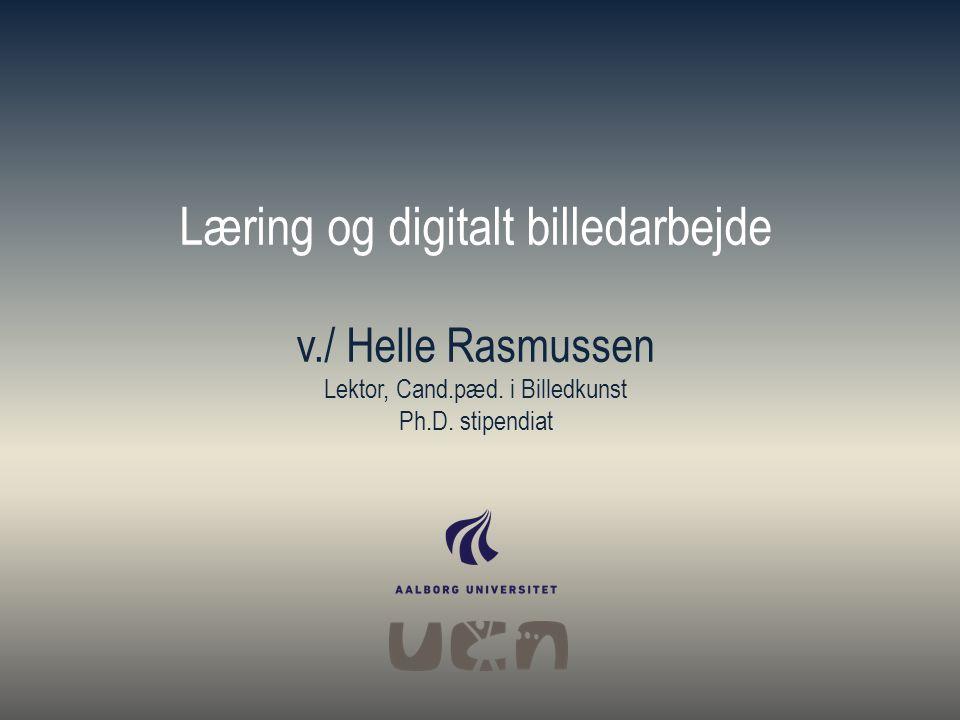Læring og digitalt billedarbejde