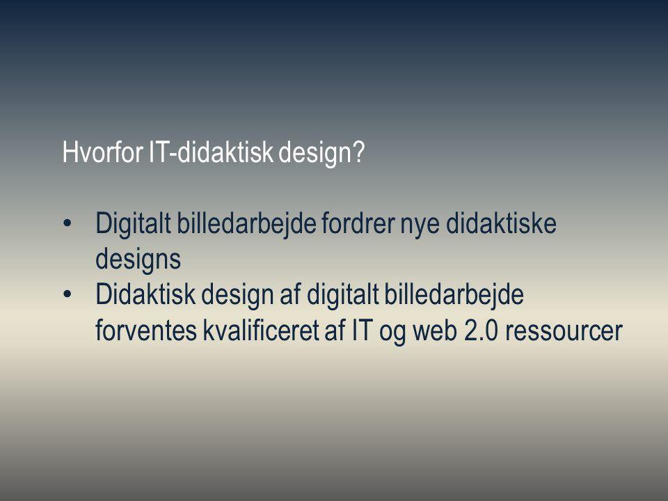 Hvorfor IT-didaktisk design