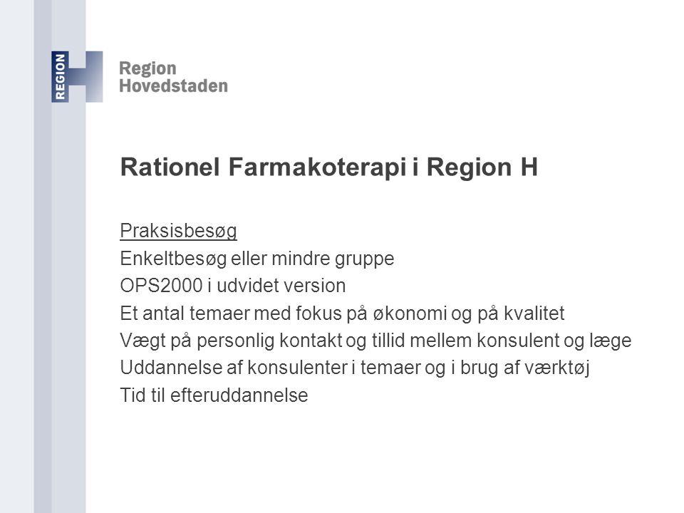 Rationel Farmakoterapi i Region H