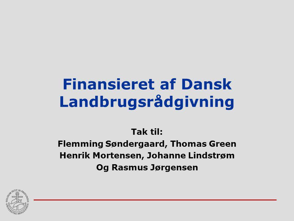 Finansieret af Dansk Landbrugsrådgivning