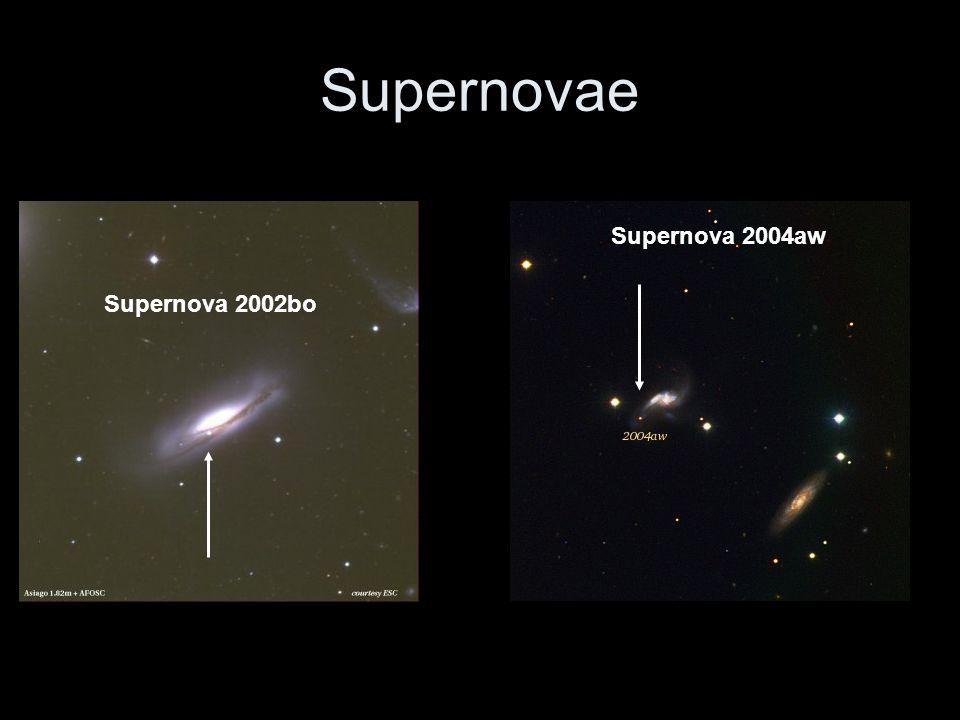 Supernovae Supernova 2004aw Supernova 2002bo