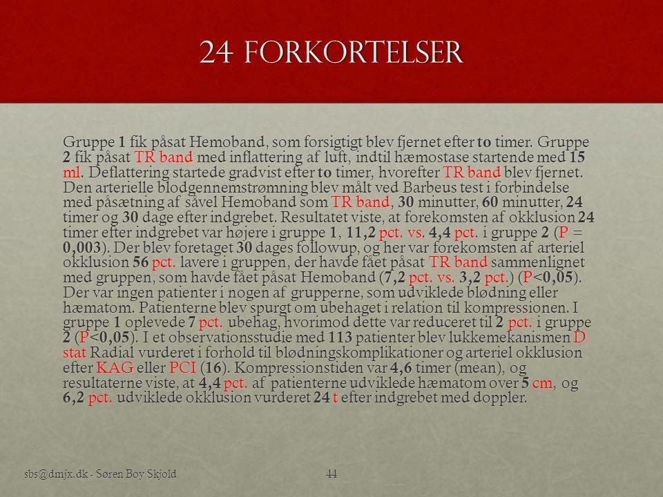 24 forkortelser