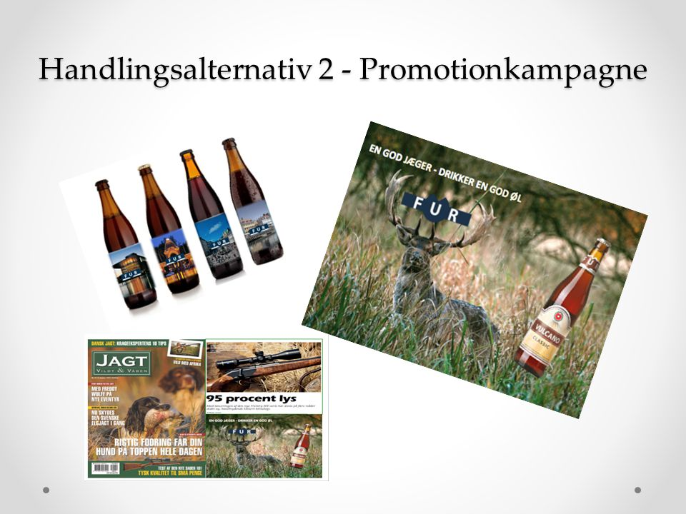 Handlingsalternativ 2 - Promotionkampagne