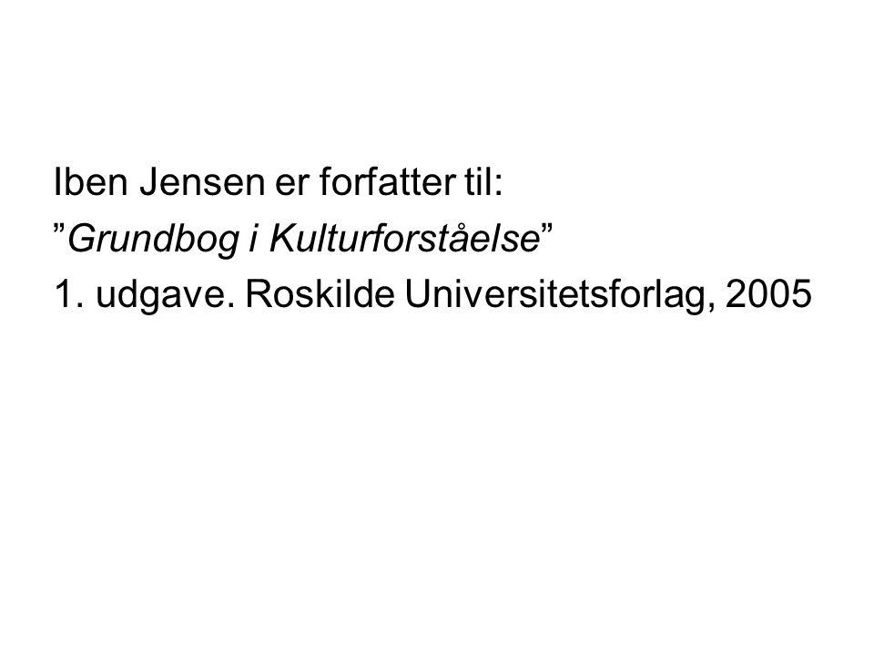 Iben Jensen er forfatter til: