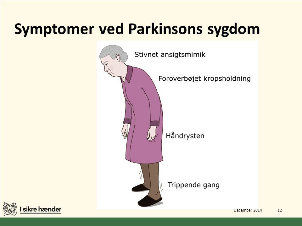 Symptomer ved Parkinsons sygdom
