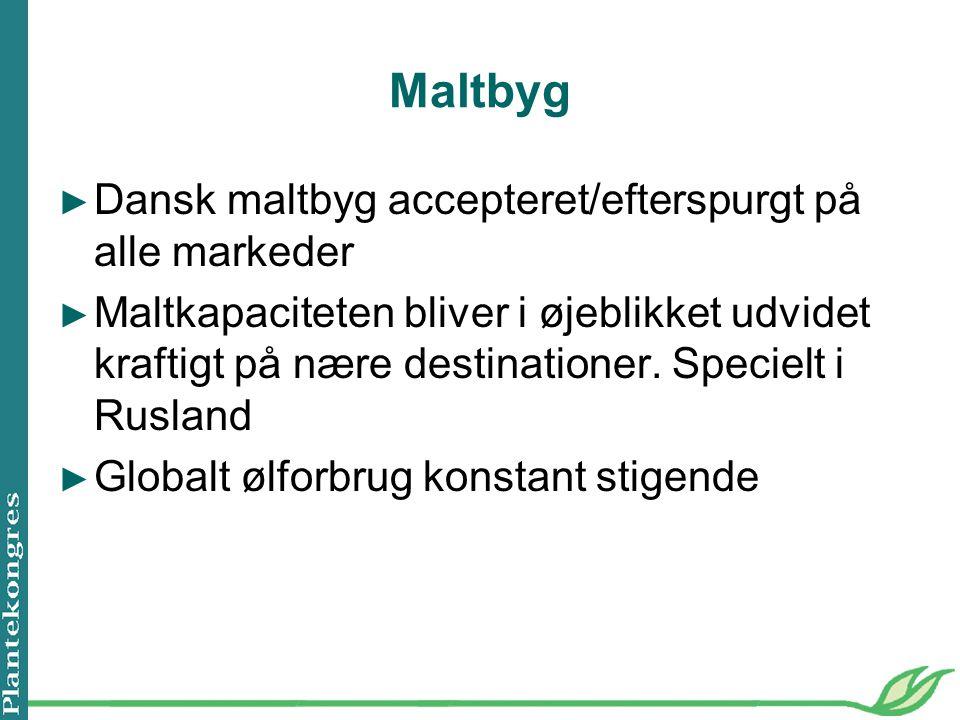 Maltbyg Dansk maltbyg accepteret/efterspurgt på alle markeder