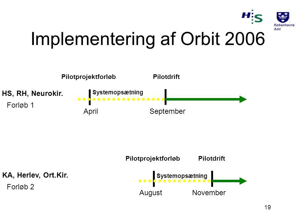 Implementering af Orbit 2006