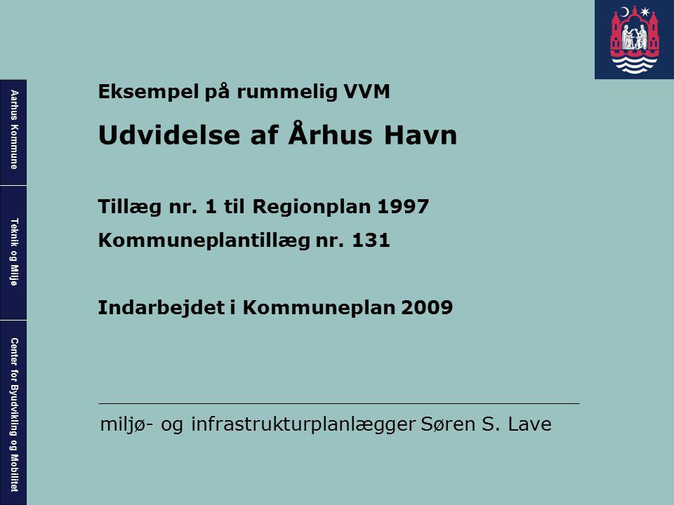 Udvidelse af Århus Havn