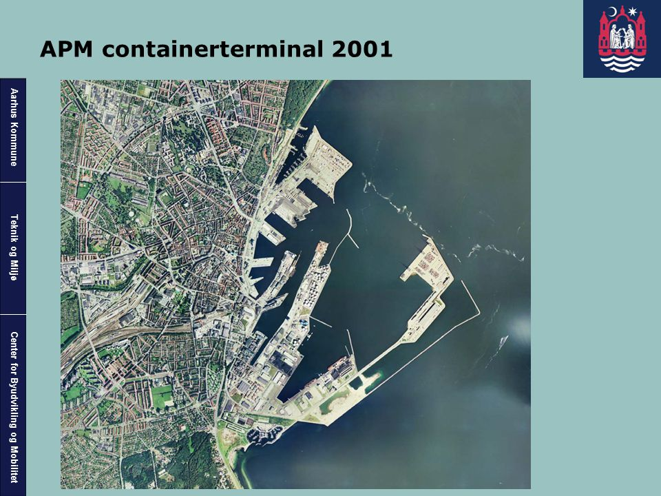APM containerterminal 2001