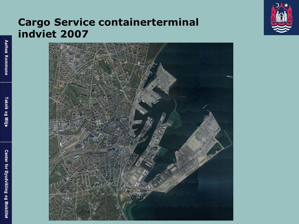 Cargo Service containerterminal indviet 2007
