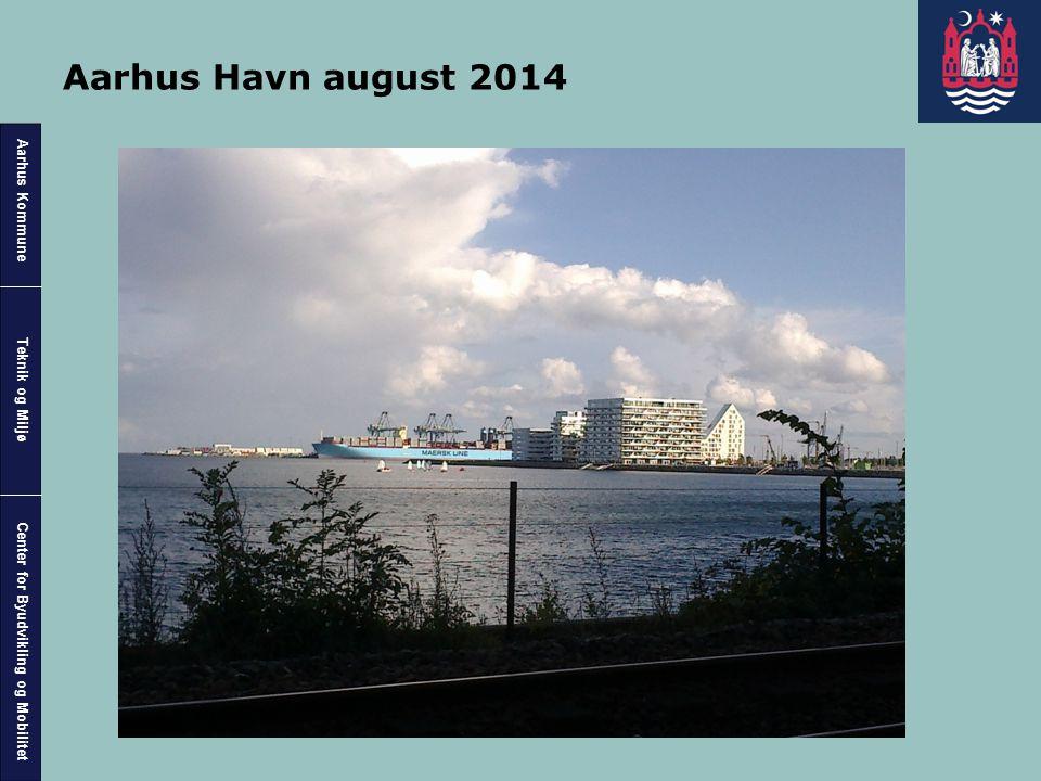 Aarhus Havn august 2014