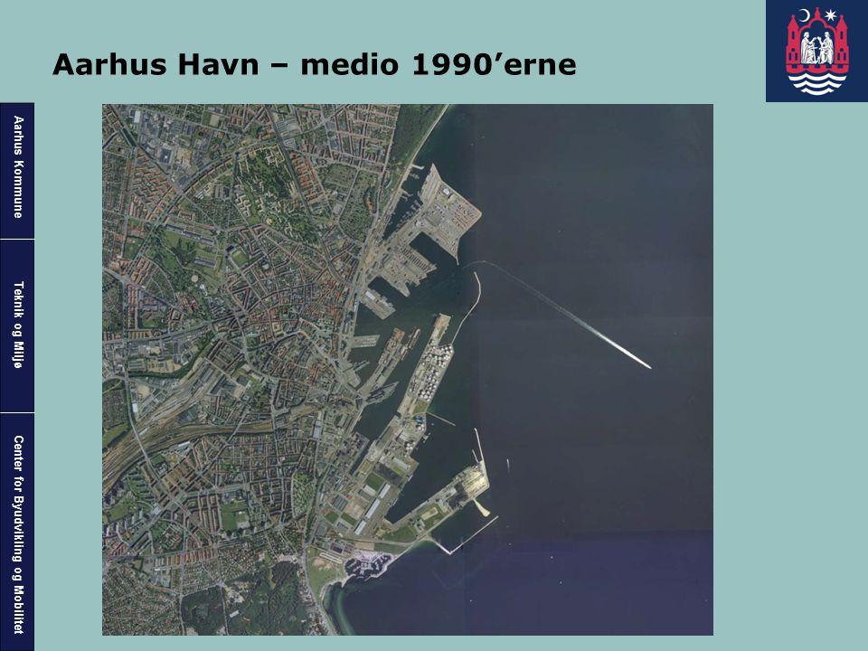 Aarhus Havn – medio 1990'erne