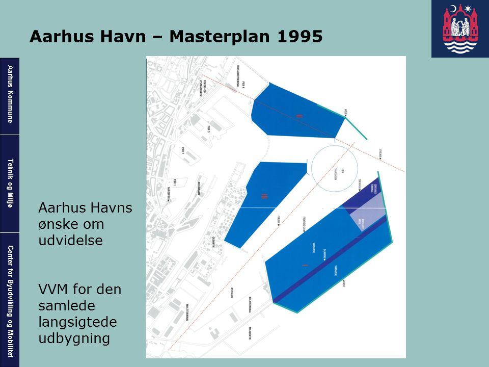 Aarhus Havn – Masterplan 1995