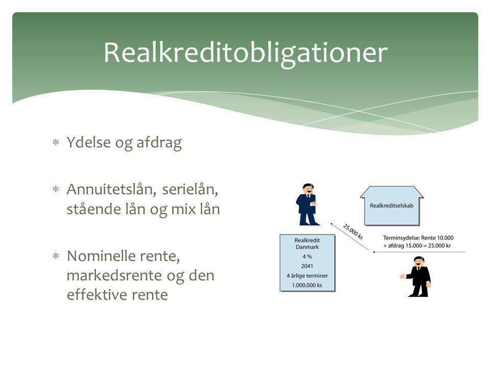 Realkreditobligationer