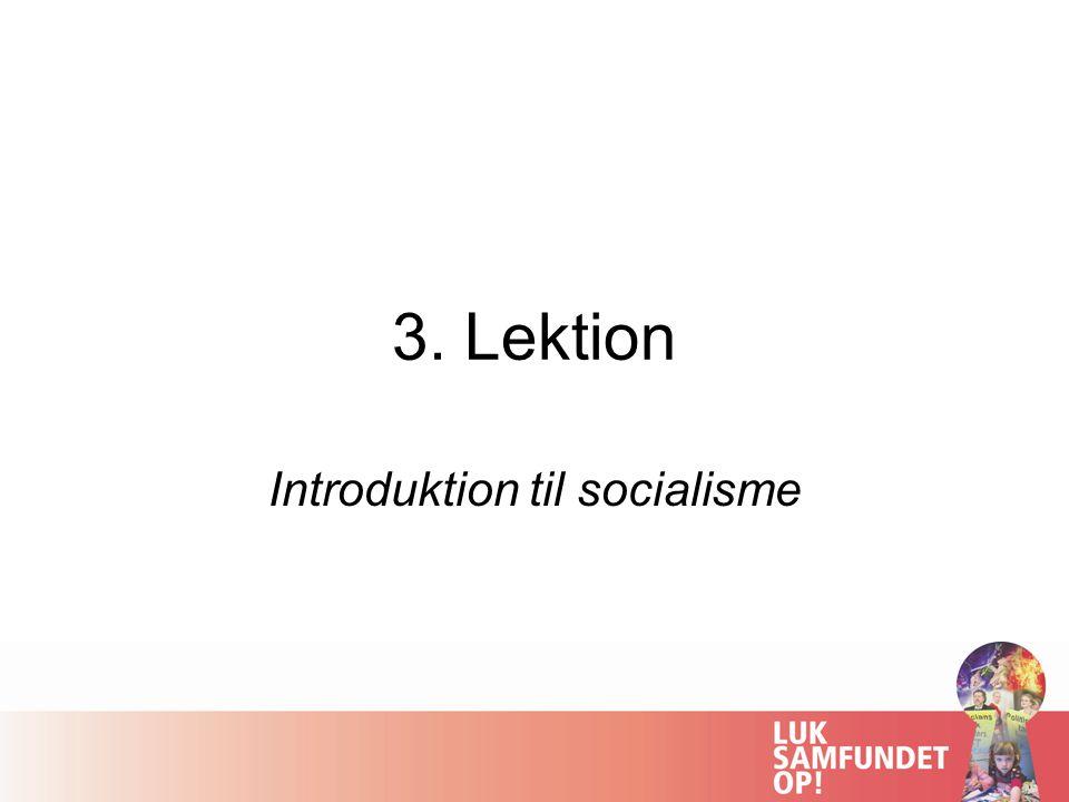 Introduktion til socialisme