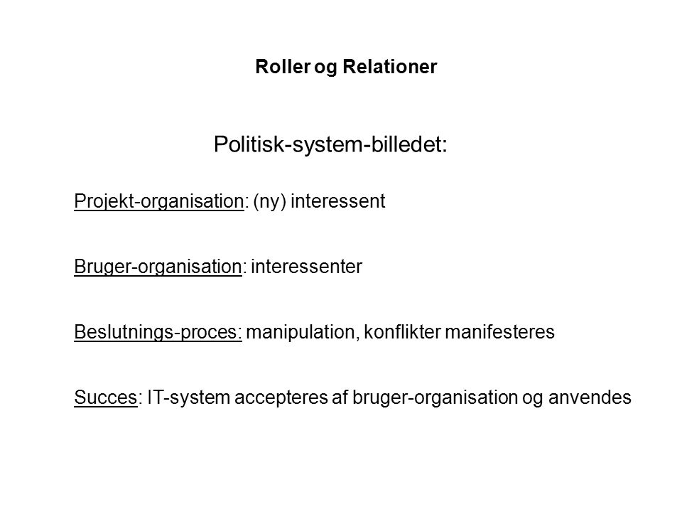 Politisk-system-billedet: