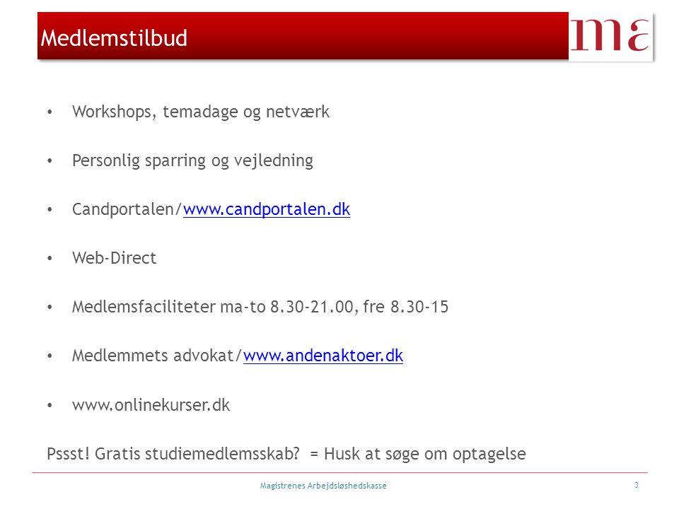 Medlemstilbud Workshops, temadage og netværk