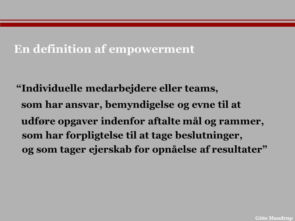 En definition af empowerment