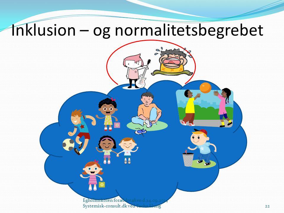 Inklusion – og normalitetsbegrebet