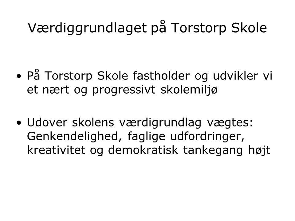 Værdiggrundlaget på Torstorp Skole