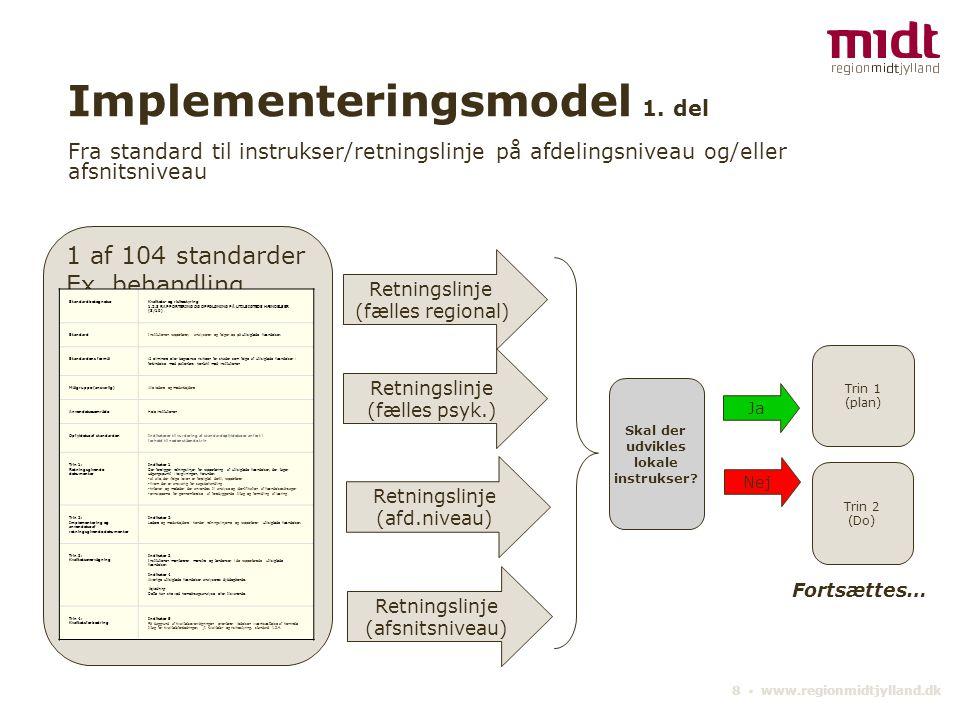 Implementeringsmodel 1