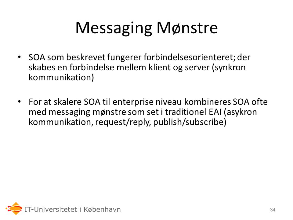 24-09-06 Messaging Mønstre.