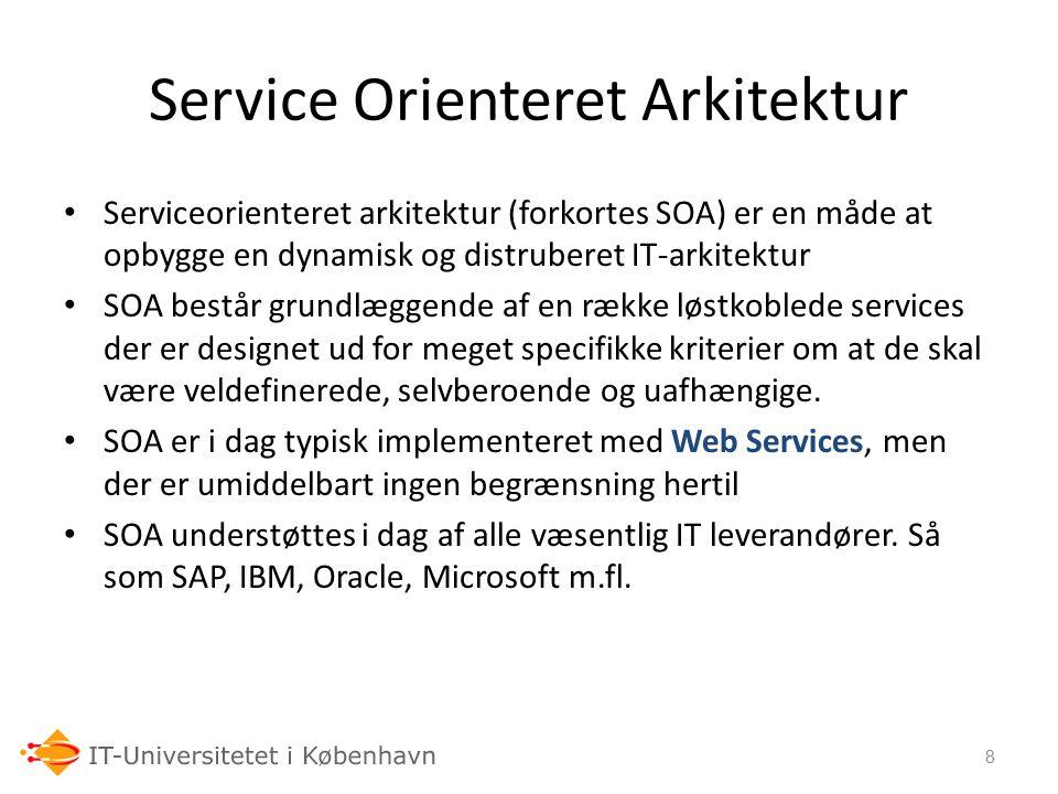 Service Orienteret Arkitektur