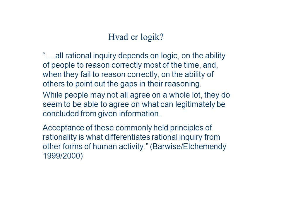 Hvad er logik