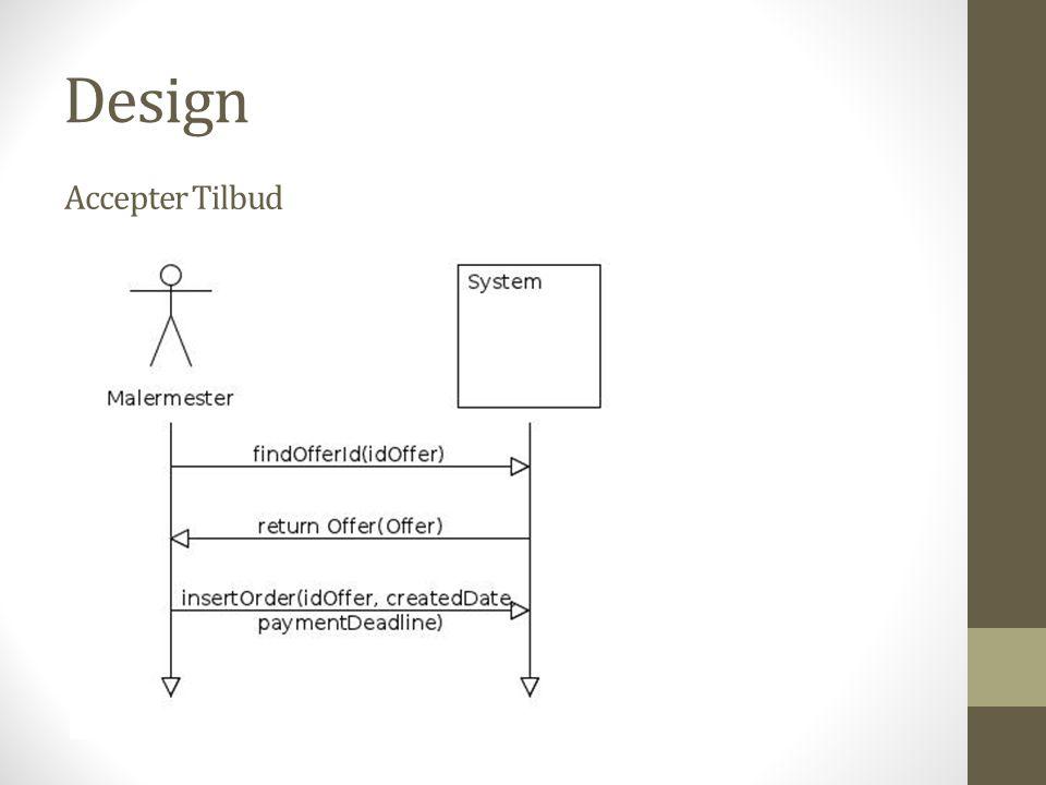 Design Accepter Tilbud
