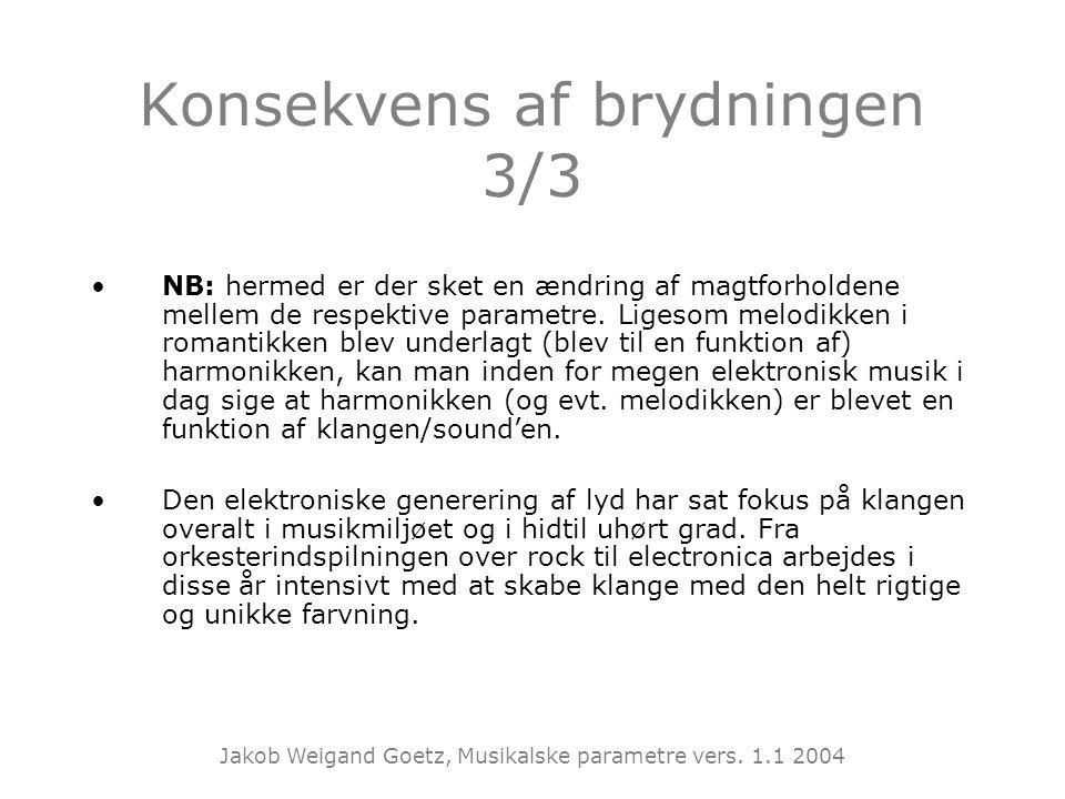 Konsekvens af brydningen 3/3