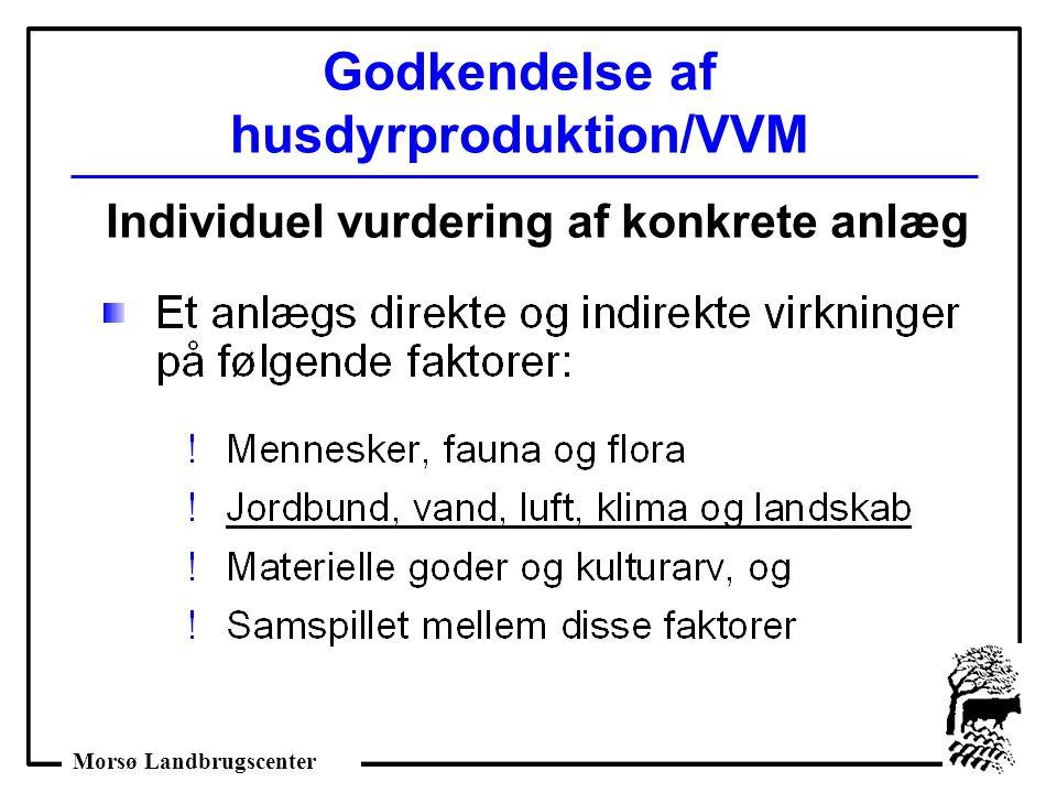 Godkendelse af husdyrproduktion/VVM