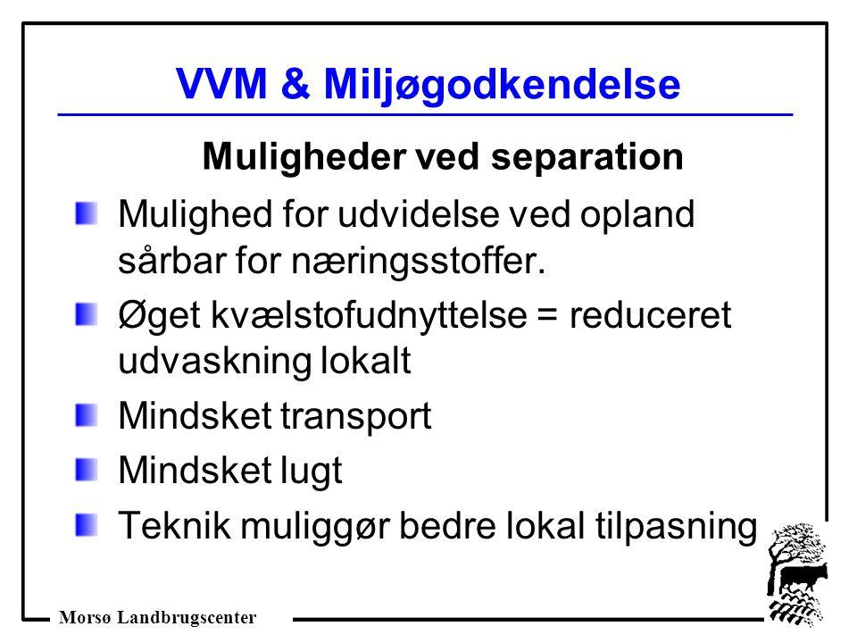 VVM & Miljøgodkendelse