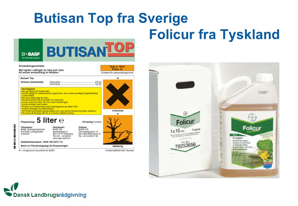 Butisan Top fra Sverige Folicur fra Tyskland