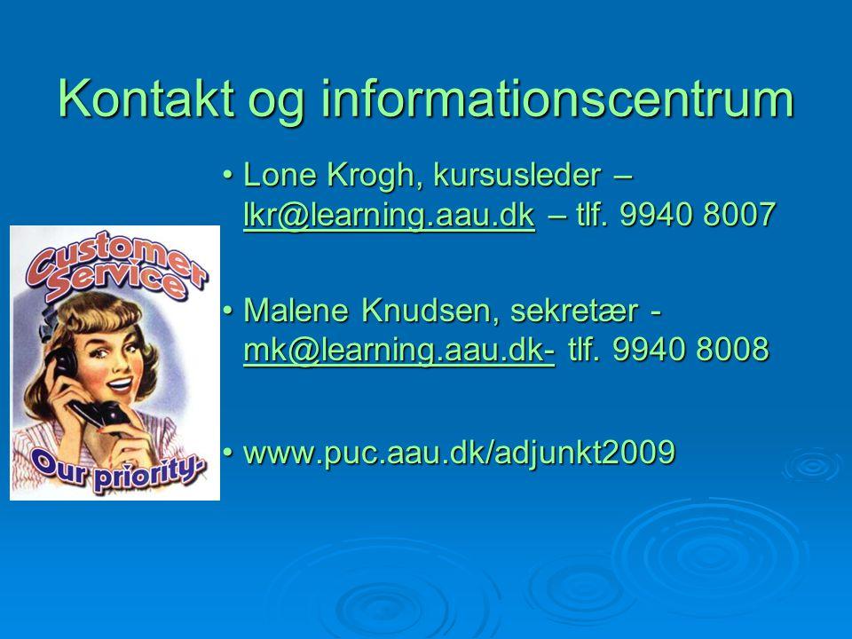 Kontakt og informationscentrum