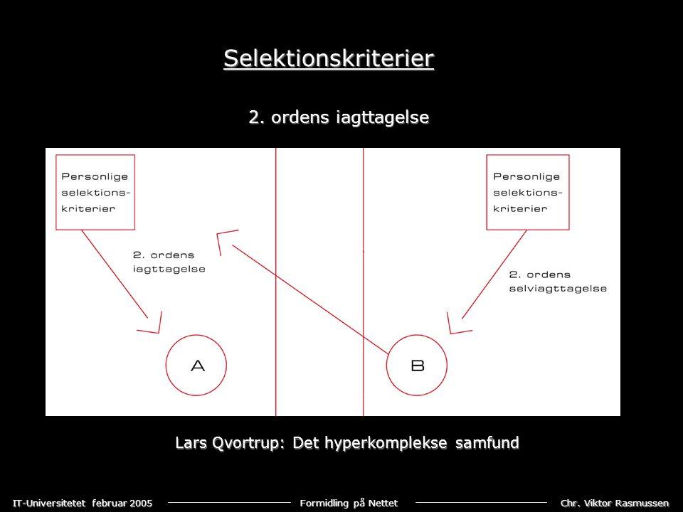 Lars Qvortrup: Det hyperkomplekse samfund