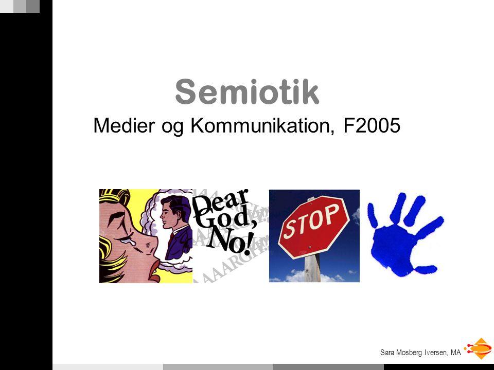Medier og Kommunikation, F2005