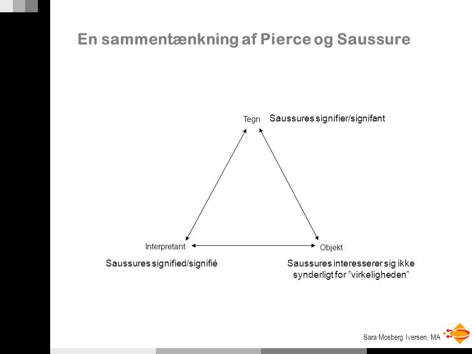 En sammentænkning af Pierce og Saussure