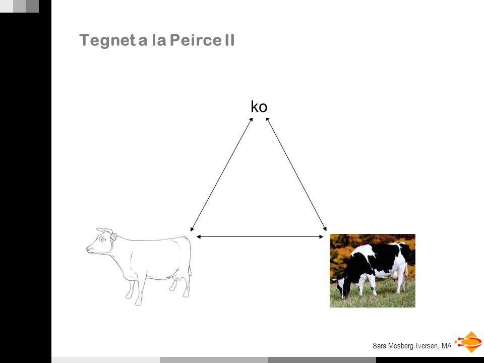 Tegnet a la Peirce II ko Tegn