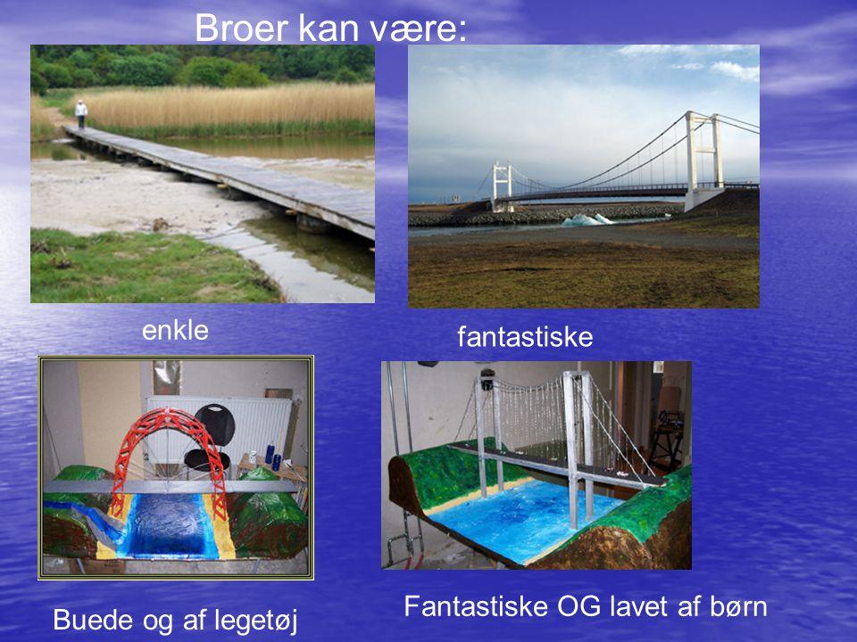 Broer kan være: enkle fantastiske Fantastiske OG lavet af børn