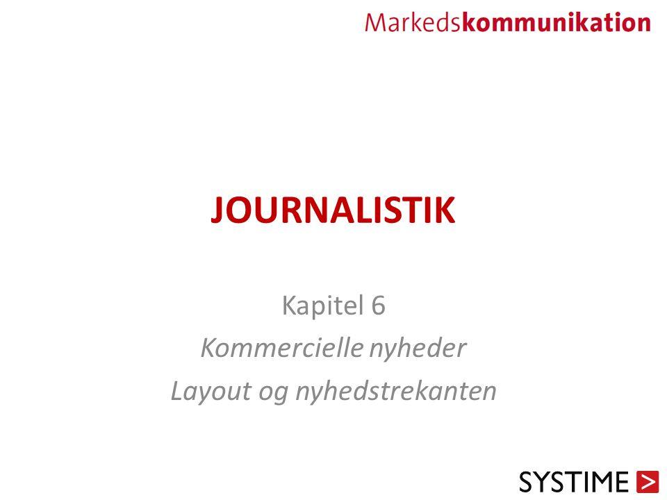Kapitel 6 Kommercielle nyheder Layout og nyhedstrekanten